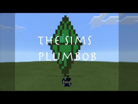 Minecraft - The Sims Plumbob [Pixel Art][Stop Motion]