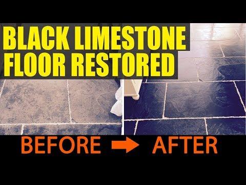 Black Limestone Floor installation problems resolved in Wimbledon