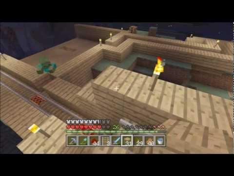Minecraft Xbox 360 1.0.1 #66 - Detector Rails and Pistons, Redstone and Stuff