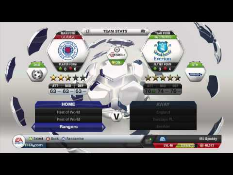 How To Play As The Adidas All Star Team | FIFA 13
