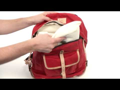 Will Leather Goods Wax Canvas Dome Backpack SKU: 8317462
