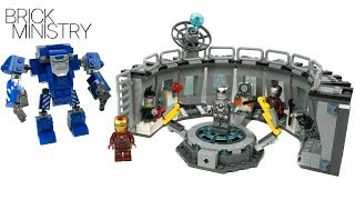 Download IRON MAN HALL OF ARMOUR ● LEGO Avengers: ENDGAME [76125] Video