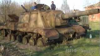 """Оживший """"Зверобой"""" ИСУ-152"""