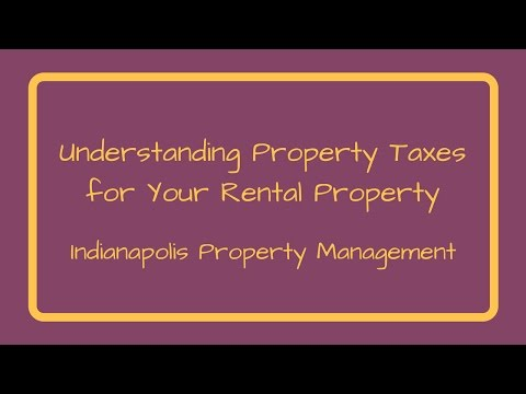 Understanding Indianapolis Property Taxes for Your Rental Property