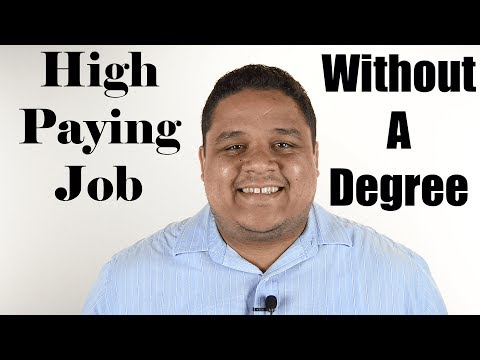 How To Get A High Salary Job Without A College Degree