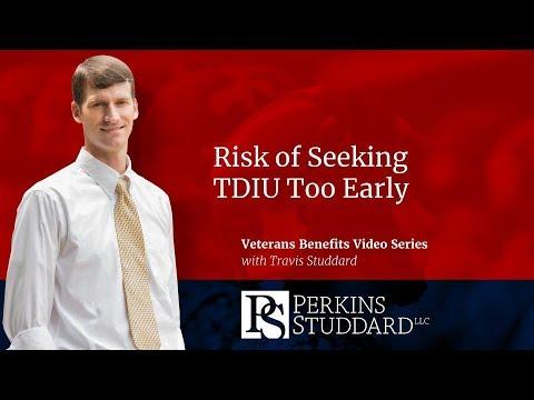 Risk of Seeking TDIU Too Early