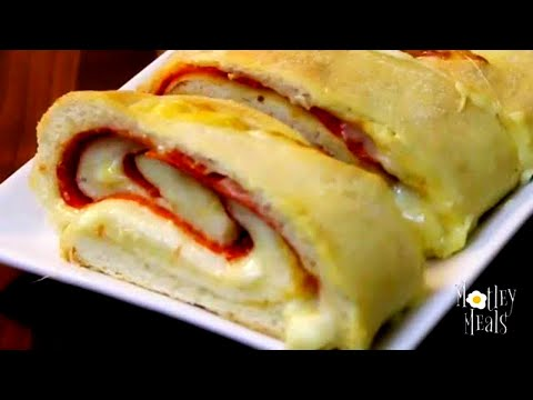 Pepperoni Bread at Home