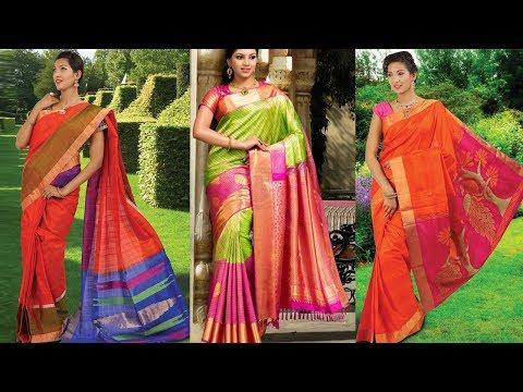 Latest New Soft Silk Saree Designs With Price - She Fashion
