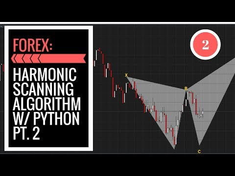 FOREX Harmonic Pattern Scanning Algorithm in Python pt. 2: Pattern Finding
