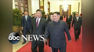 Kim Jong Un visits China in historic first