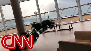 Download shows chaos inside of cruise ship being evacuated Video