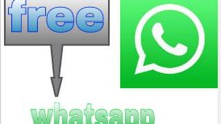 تشغيل الواتساب مجانا على جميع الشبكات العربية