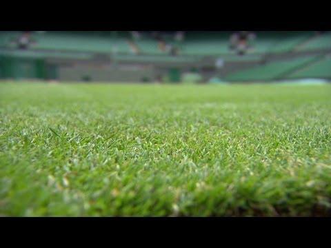 Wimbledon grass prepped for tennis season