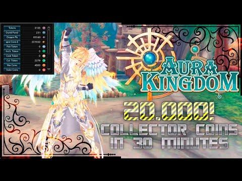 AuraKingdom - 20.000 Collector Tokens in 30 Min!