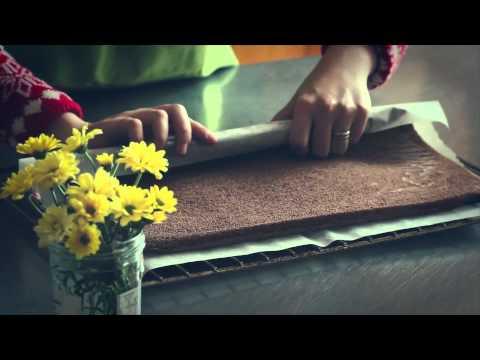 Kitchen Art's Living series #8: Yule chocolate log cake