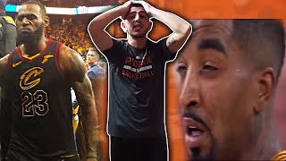 JR SMITH RUINS LEBRON'S GAME!!! WTF DID I JUST SEE?!