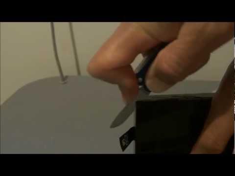 How to open Original Xbox 360 Slim 250 GB Hard Drive