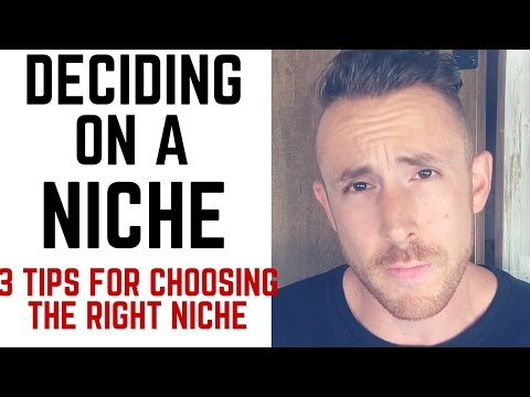 How To Choose The Right Niche For Your Online Business