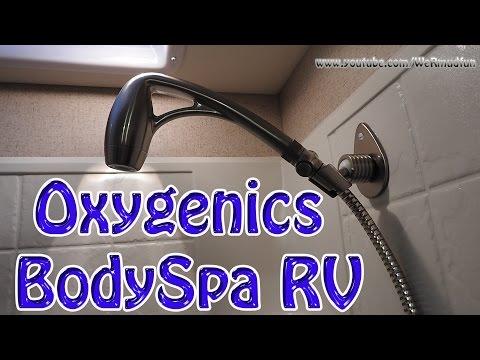 Oxygenics BodySpa RV Install and Demo
