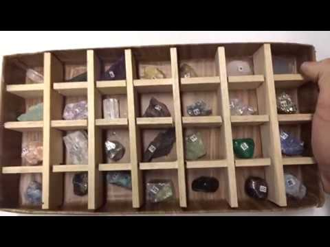 Mineral Collection Display Box