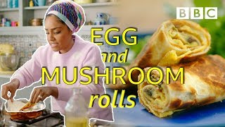 How to make lunch in 5 minutes!  - Nadiya's Time to Eat   BBC