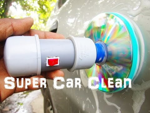 How To Make a car - car cleaning machine At home