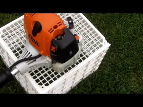 Cold Start of the Stihl FS90R Gas Trimmer