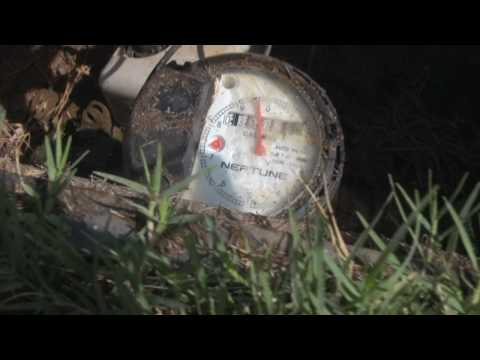 How to shut off your water meter