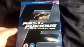 Fast & Furious 7-Movie Collection Blu-Ray Unboxing
