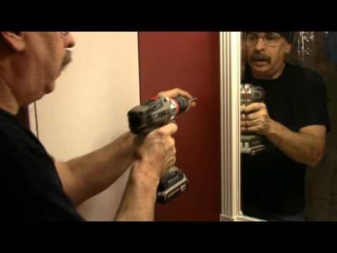 Installing a Shaving Mirror
