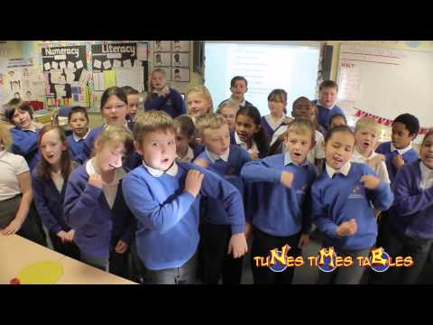 Times Tables Mr NK teaches tunes times tables to (year 4) at Black Heath (Part 1)