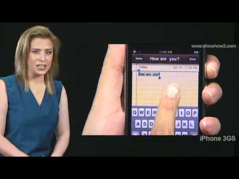 iPhone 3GS - How to undo with voiceover