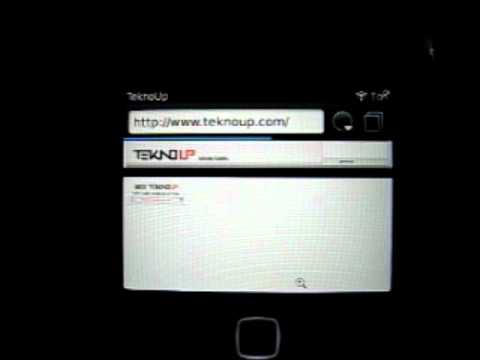 Browser BlackBerry Curve 9360