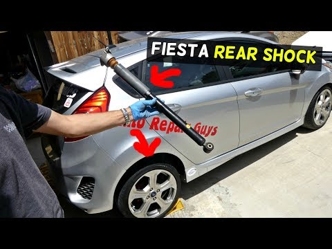 FORD FIESTA REAR SHOCK REPLACEMENT SHOCKS REPLACEMENT MK7 ST