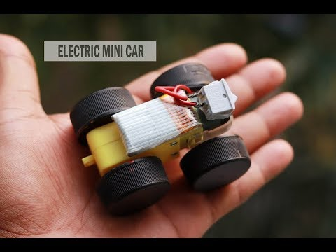 How to make a Mini Electric Car at home | Powerful Toy Car