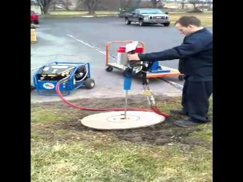 ground rod driver test