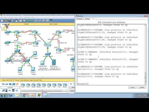 Packet Tracer 1.4.1.3  - Skills Integration Challenge EIGRP (CCNA 4 - Connecting Networks)