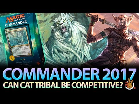 Can Cat Tribal be Competitive? CMDR 2017 Cat Deck Review | The Command Zone #173 | Commander Podcast