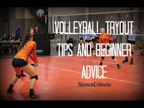 Volleyball tryout tips♡