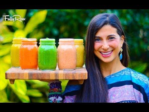 5 FullyRaw Salad Dressings!