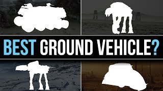 Which Star Wars Faction has the BEST GROUND VEHICLE? | Star Wars Lore