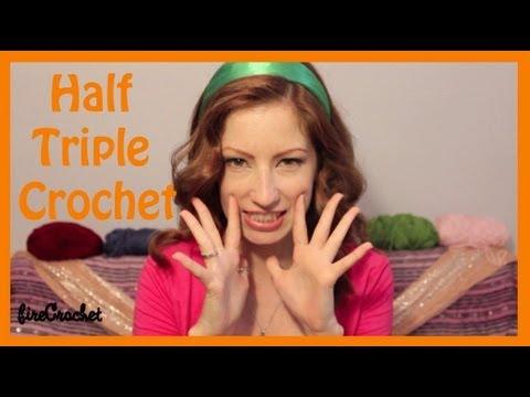 (it's a secret) Half Triple Crochet : Beginner Crochet Tutorial