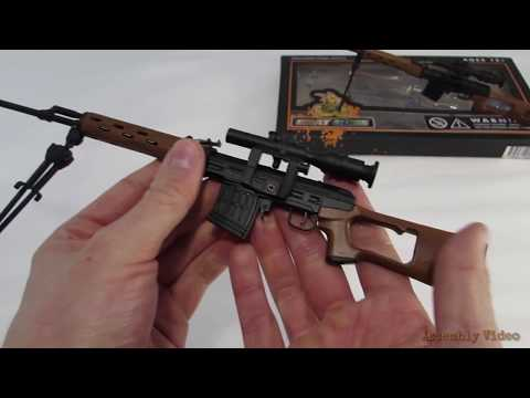How to Assemble the SVD Model Replica Sniper Rifle