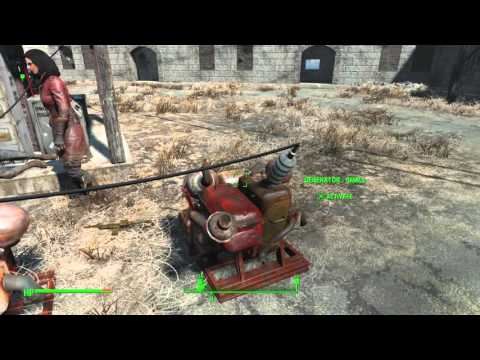 Fallout 4 PS4 - Connecting power to the radio transmitter tutorial