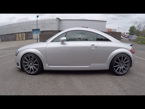 Audi tt 225 bam Review.367bhp.K04 hybrid.2 port Water meth injection