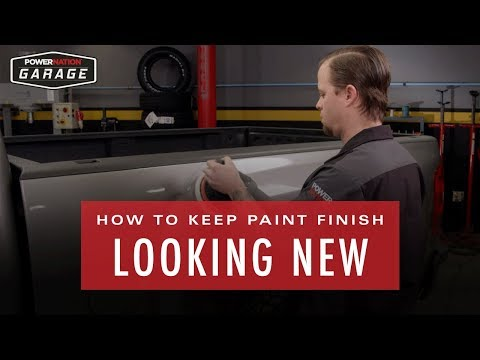 How To Keep Your Paint Finish Looking New