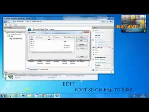 HD:: How to fix Wamp Server ports 80 IIS 7.5 Clash windows 7