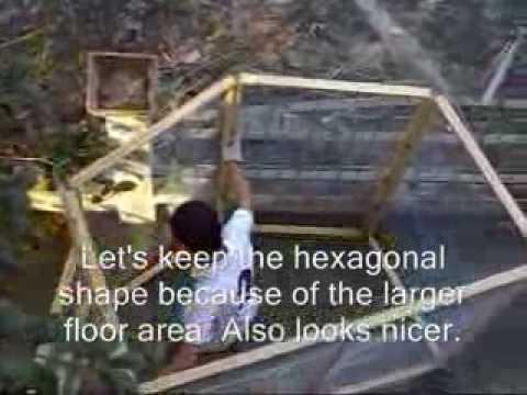 My First Hexagonal Aviary/Birdcage สร้างกรงนก 6 เหลียม