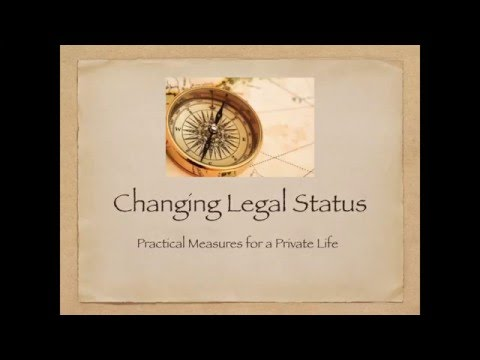 Changing Legal Status - Practical Matters
