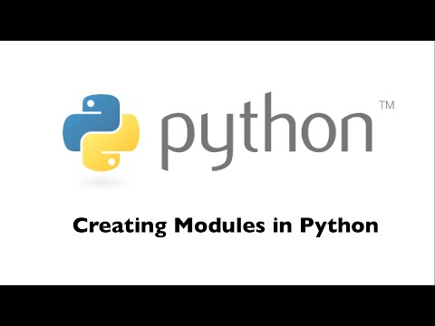 Creating Modules in Python [HD 1080p]